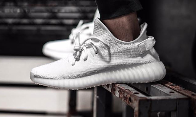 meet 30bd0 8dacd How And Where To Buy The New Yeezy Boost 350 V2 Cream White ...
